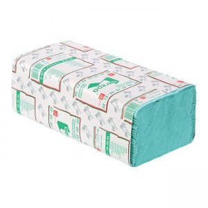 Paper towels ZZ green double-layer
